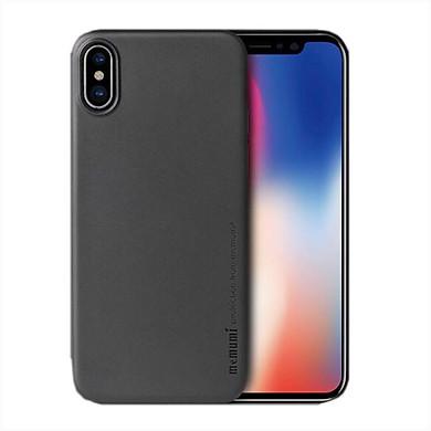 Ốp lưng Memumi siêu mỏng 0.3 mm dành cho iPhone X (đen) - Hàng Chính Hãng