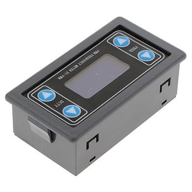 Máy Phát Tín Hiệu Xung PWM Tần Số Chu Kỳ Nhiệm Vụ Module Màn Hình Hiển Thị LCD 3.30V ~ 30V