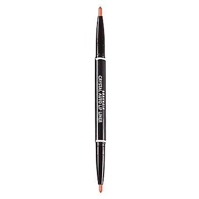 Chì kẻ môi 2 đầu bền màu Beauskin Crystal Auto Lip Liner 7 Mandarine Orange 5g - Hàn Quốc Chính Hãng