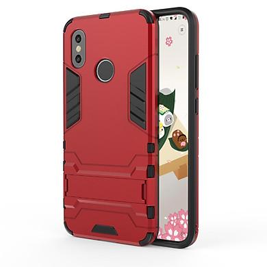 Ốp lưng chống sốc Iron Man cho điện thoại Xiaomi Mi 8