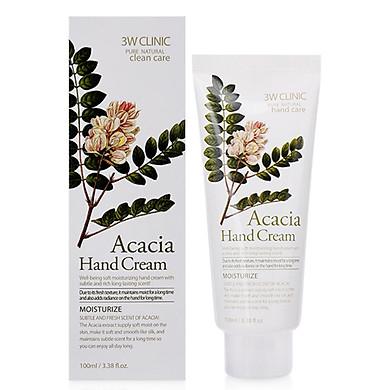 Kem dưỡng da tay thảo mộc 3W Clinic Acacia Hand Cream (100ml)