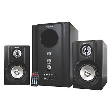 Loa Vi Tính SoundMax A-980/2.1 40W Tích Hợp Bluetooth 4.0 - Hàng Chính Hãng