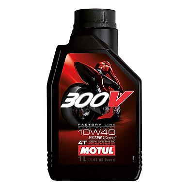 Nhớt Xe Số Motul 300V Factory Line Road Racing 10W40 12x1 (1L)