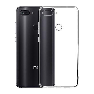 Ốp lưng Silicone dẻo trong dành cho Xiaomi Mi 8 Lite - Hàng chính hãng