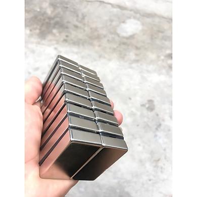 Nam Châm Trắng 40x20x10mm ( Từ Tính Hút Cực Mạnh ) - Nam Châm Đất Hiếm NdFeB