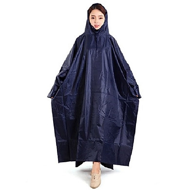 Áo mưa cánh dơi 1 đầu vải dù màu ( màu ngẫu nhiên)