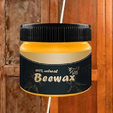 Sáp ong đánh bóng đồ gỗ Beewax - Tặng 1 vòng chỉ đỏ may mắn