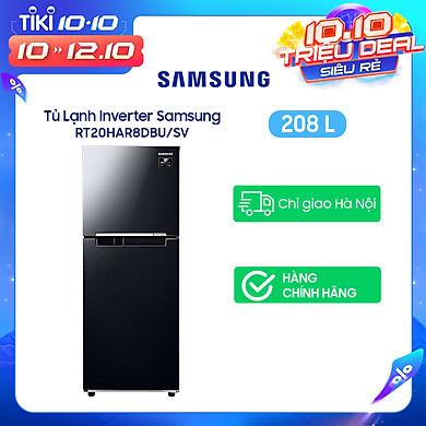 Tủ Lạnh Inverter Samsung RT20HAR8DBU/SV (208L) – Hàng Chính Hãng – Chỉ Giao tại Hà Nội