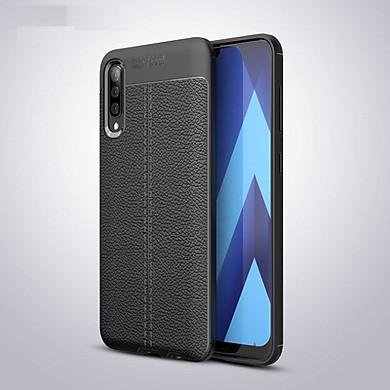 Ốp lưng cho SamSung Galaxy A30 silicon giả da, chống sốc