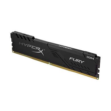 Ram PC Kingston HyperX Fury Black 16GB (1x16GB) Bus 2666 DDR4 CL16 DIMM XMP Non-ECC HX426C16FB3/16 - Hàng Chính Hãng