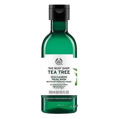 Sữa Rửa Mặt Tea Tree Skin Clearing Facial Wash (250ml)