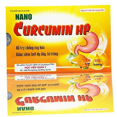 Thực phẩm chức năng Nano Curcumin HP - Học Viên Quân Y - Giải Pháp Cho Người Bệnh Dạ Dày, Ung Thư