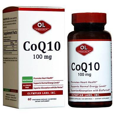 Thực phẩm chức năng Hỗ trợ sức khỏe tim mạch Coq10 100mg 60 viên