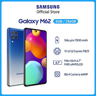 Điện Thoại Samsung Galaxy M62 (8GB/256GB) – Hàng Chính Hãng