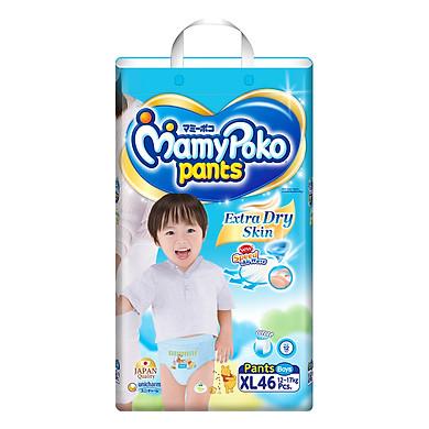 Tã Quần Bé Trai Gói Siêu Lớn MamyPoko XL46 (46 Miếng)