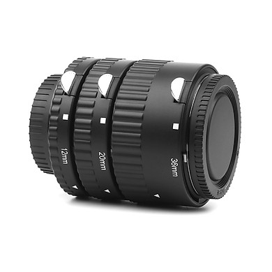 Ống Nối Chụp Macro Lấy Nét Tự Động AF SHOOT XT-365 Cho Ống Kính Nikon F-mount  AF (12mm 20m 36mm)