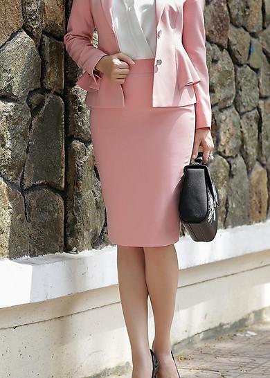 Váy BC 2L ruby hồng da