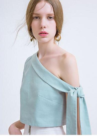 Áo Sơ Mi Nữ Vintage Dịu Dàng - TN01