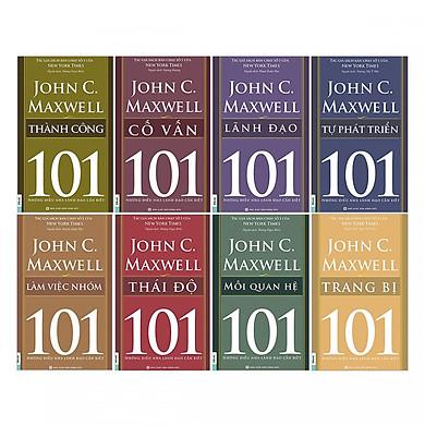 Bộ Sách Cẩm Nang Lãnh Đạo Tương Lai ( Trọn Bộ 8 Cuốn 101 Những Điều Nhà Lãnh Đạo Cần Biết  + tặng kèm bookmark TH )