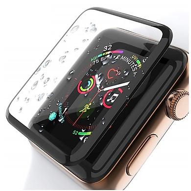 Miếng Dán Cường Lực 3D Cho Apple Watch đủ size 38/40/42/44mm chống bám vân tay