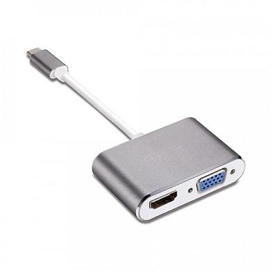 Cáp Chuyển Đổi USB TYPE-C Sang HDMI Và VGA