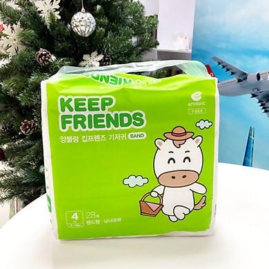 Tã dán nội địa Hàn Quốc Enblanc Keep Friend size 4 (L 28 miếng)