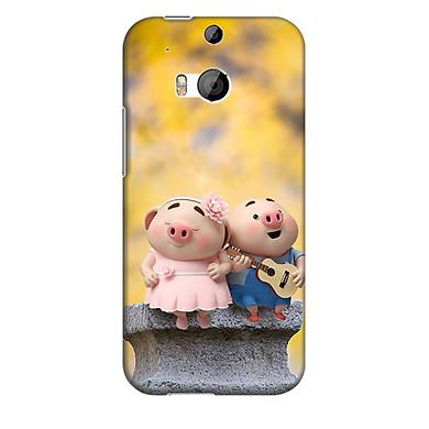 Ốp lưng nhựa cứng nhám dành cho HTC One M8 in hình Tình Nhân ơi