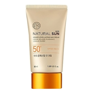 THE FACE SHOP Natural Sun Eco Power Long Lasting Sun Cream