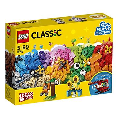 Bộ Lắp Ráp Hộp Gạch Classic Sáng Tạo LEGO CLASSIC 10712 (244 chi tiết)
