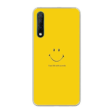 Ốp điện thoại Vsmart Live - Silicon dẻo - 0271 SMILE02 - Hàng Chính Hãng