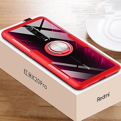 Ốp lưng cho Xiaomi Mi 9T / Redmi K20 Trong Suốt Chống Sốc iRing Viền Màu
