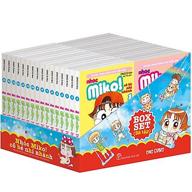 Boxset Nhóc Miko! Cô Bé Nhí Nhảnh (Trọn Bộ 32 Tập)