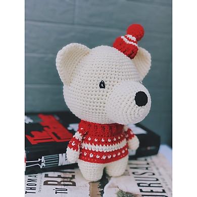 Gấu giáng sinh - Made By Bunny - Thú bông quà tặng dễ thương cho bé