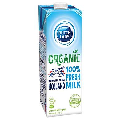 Hộp Sữa Tươi Tiệt Trùng Dutch Lady Organic (1L)
