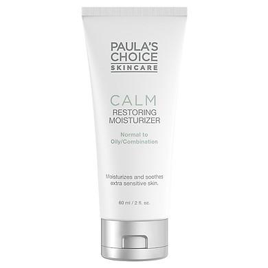 Kem dưỡng ẩm chống lão hóa, phục hồi da dầu nhạy cảm Paula's Choice Calm Restoring Moisturizer 60ml