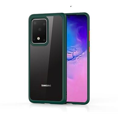 Ốp lưng kính trong viền chống sốc Likgus SEXY Serise cho SamSung Galaxy S20 Ultra, S20 Plus- Hàng nhập khẩu