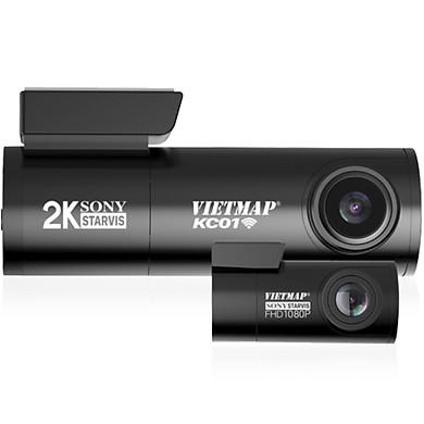 VIETMAP KC01 - Camera Hành Trình Ô Tô Ghi Hình Trước & Sau - Hàng Chính Hãng