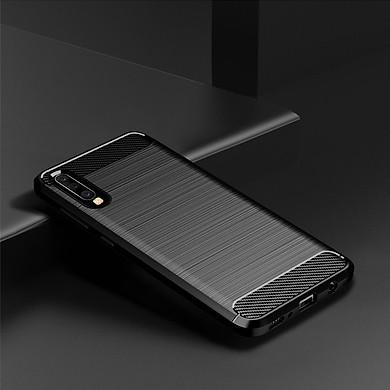 Ốp lưng chống sốc chính hãng RUGGED ARMOR SamSung Galaxy A70 Vân Sợi Carbon