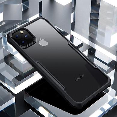 Ốp lưng trong suốt viền màu chống sốc chính hãng XunDD Beatle Series dành cho iPhone 11