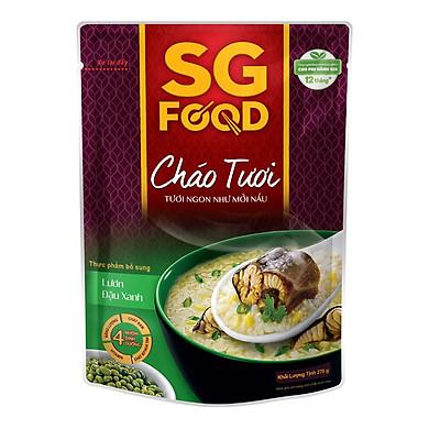 Cháo Tươi Lươn Đậu Xanh SG Food (270g)