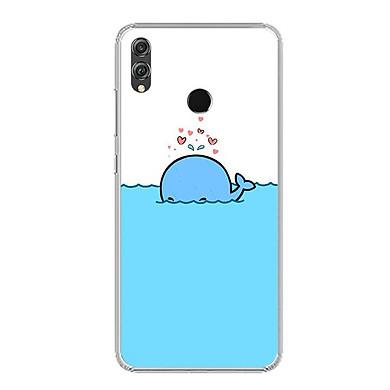 Ốp lưng dẻo cho điện thoại Huawei Honor 8X - 0287 DOLPHIN02 - Hàng Chính Hãng