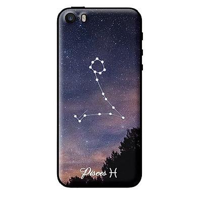 Ốp in cho iPhone 5s Cung Hoàng Đạo - Pisces - Hàng chính hãng