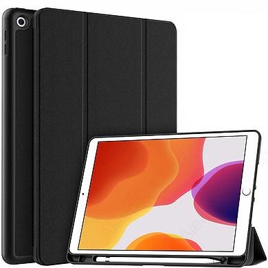Bao da dành cho iPad 10.2 2019 chính hãng Mutural kèm khay đựng bút