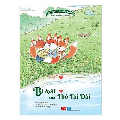Bộ Sách Giáo Dục Sớm Dành Cho Trẻ Em Từ 2-8 Tuổi - Bí Mật Của Thỏ Tai Dài