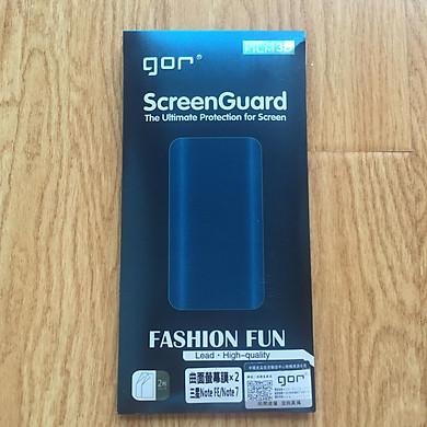 Dán dẻo Gor Samsung Note FE ( 2 Miếng Mặt Trước + 1 Miếng Cacbon Sau +1 Bộ Vệ Sinh) Hàng nhập khẩu