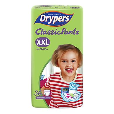 Tã Quần Drypers ClassicPantz Gói Đại XXL36 (36 Miếng)