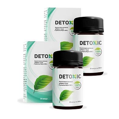 Combo 2 Thực phẩm bảo vệ sức khỏe hỗ trợ tiêu hóa Troychatka Forte SBC - Detoxic