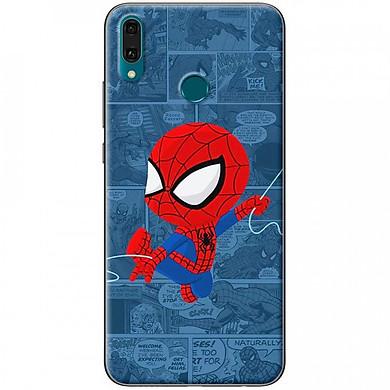 Ốp lưng dành cho Huawei Y9 2019 mẫu Người nhện truyện tranh