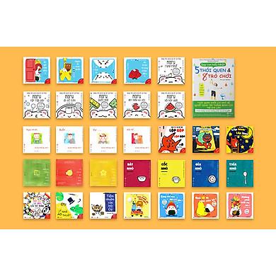 32 cuốn sách gồm 8 bộ Ehon 31 cuốn giúp con thông minh và 1 sách dạy con kiểu Nhật Full026