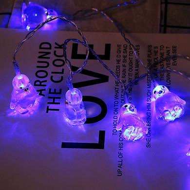 Gobestart Penguin Animal Shape String Lights 10 LED 1.65M